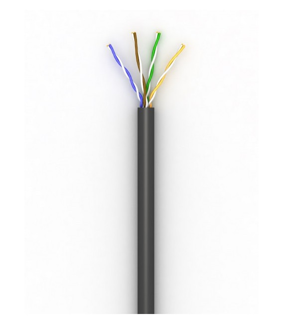 Витая пара кабель Step4Net UTP cat 5E, PЕ CСА 0,51, 305м