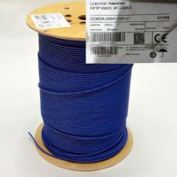 Витая пара кабель CORNING F/FTP 4P, кат. 6А, LSZH/FRNC, синий, 1000 м