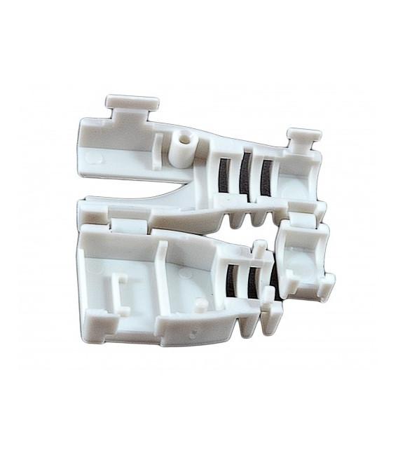 Колпачок пластиковый, разборной, для коннекторов, серый