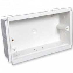 Подрозетник MK Electric 2G для короба, глубина 35мм