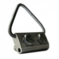 """Зажим поддерживающий П0, кабельная арматура Premium для кабеля типа """"8"""" и круглой формы"""