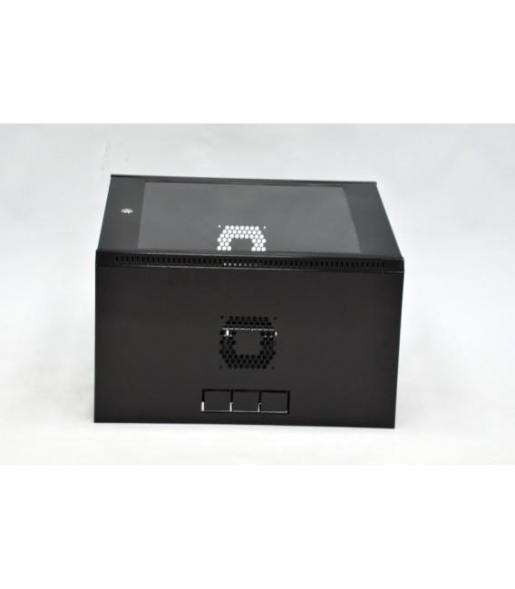 CMS Шкаф настенный 12U эконом, 600x500x640 мм, черный