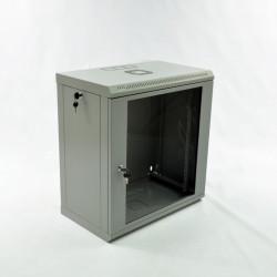 Серверный шкаф настенный 12U эконом, 600x350x640 мм, серый