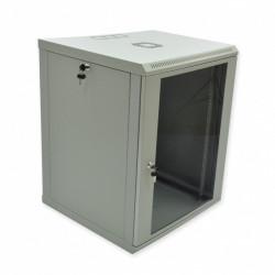 Серверный шкаф настенный 15U эконом, 600x600x773 мм, серый