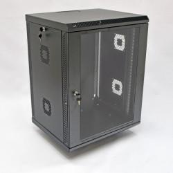 Серверный шкаф настенный 15U, 600x500x773 мм, черный
