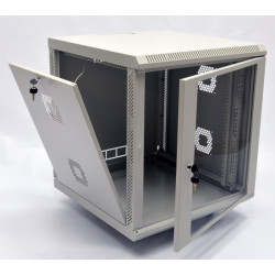 CMS Шкаф настенный 15U, 600x600x773 мм, серый