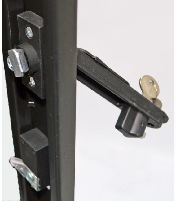 CMS Шкаф напольный 33U, 800х865 мм, усиленный, чёрный