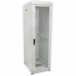 Серверный шкаф 42U перфорация, 610х1055 мм, усиленный серый