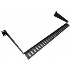 """Менеджмент кабеля 19"""" для UTP патч-панелей, металл"""