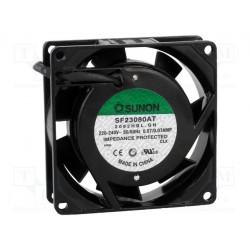 Подробнее оВентилятор SF23080AT2082HBL 80x80x25 мм
