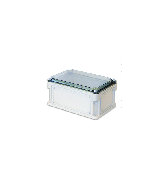 Бокс пластиковый уличный IP 67 400х200х146 мм прозрачная крышка