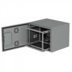 9U Всепогодный уличный климатический шкаф