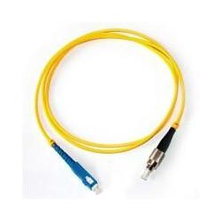 Коннектор оптический (собранный) FC simplex SM (APC), 3мм