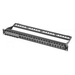 Corning Патч-панель для 24 модулей LANscape, 1U, 19', черная