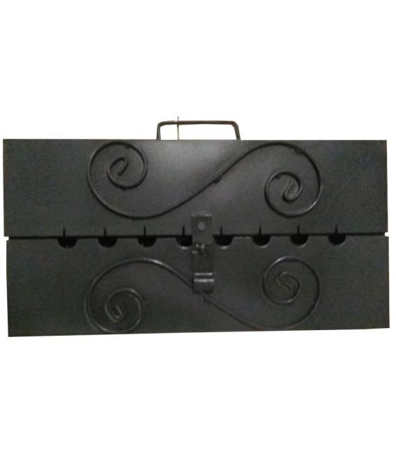 Мангал-чемодан на 8 шампуров