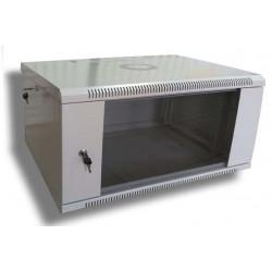WMNC-4U-E-FLAT Шкаф телекоммуникационный настенный 4U 600x450 разборной, серия ЭКО