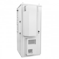 42U Шкаф с закрытым кондиционером 2,5 кВт и мониторингом
