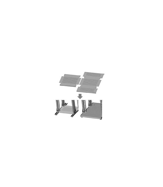 Полка нижняя 750-1000 мм усиленной стойки