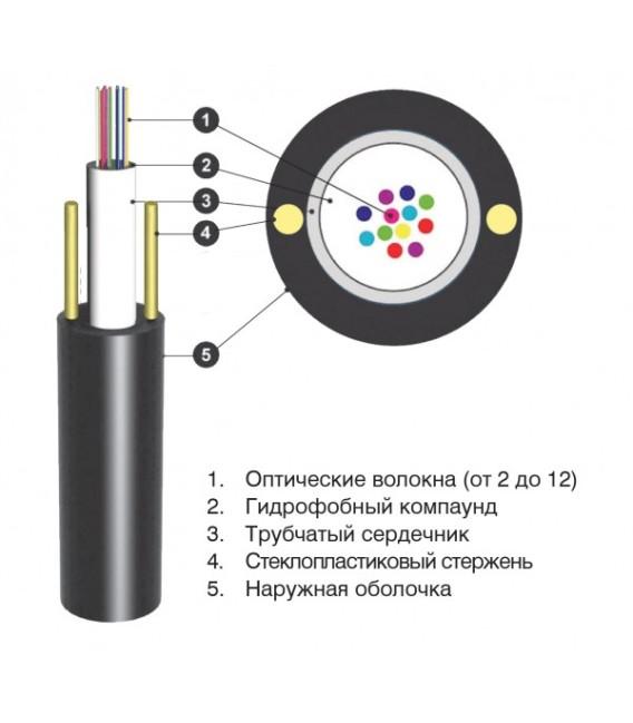 Кабель оптический ОЦПс 1,5кН 4 волокна