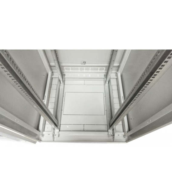 Шкаф напольный 33U 600x800 Дверь стекло