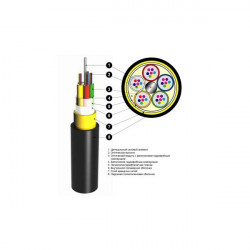 Подробнее оОптический кабель ОАрП 4кН 4 волокна