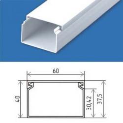 Короб для кабеля 60×40 пластиковый кабельканал