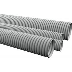 Усиленная гофротруба с протяжкой для прокладки силовых и слаботочных электросетей