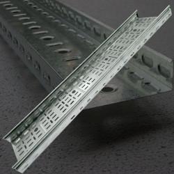 100/40 Лоток кабельный  производство Украина перфорированный оцинкованный, длина 3 метра, дешевый и качественный кабельный лоток
