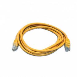 Патч-корд желтый UTP cat5e 0.5m, медь