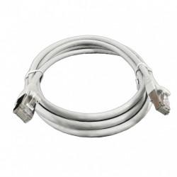 Патч-корд 0,5м серый FTP кат6
