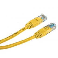 Патч-корд 2м желтый UTP RJ45 кат.5Е