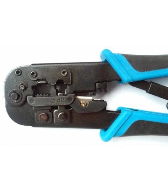 Инструмент для обжимки RJ-45 (8P8C), RJ-12(6P6C) и RJ-11(4P4C)
